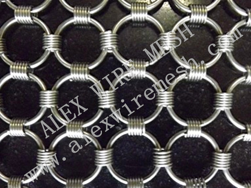 chain link decorative wire mesh