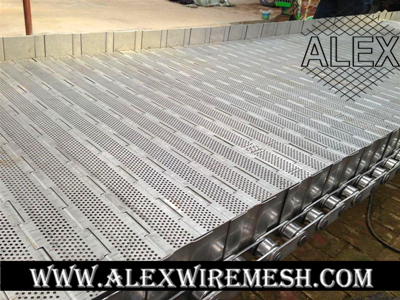 hinged plate conveyor belt