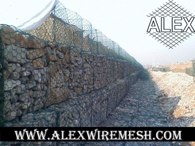 pvc coated gabion