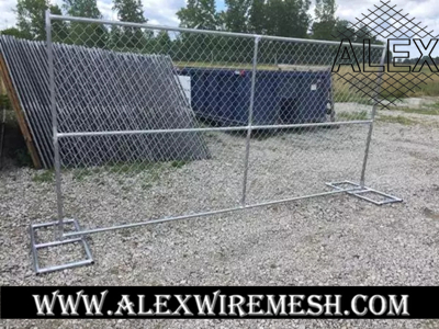 chain link construction fence