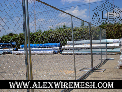 chain link event fence