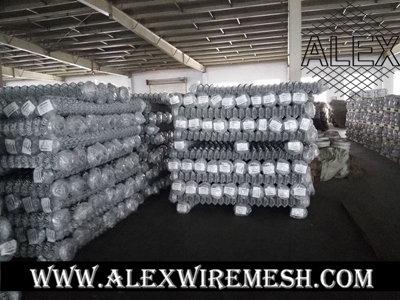 electro galvanized chain link mesh