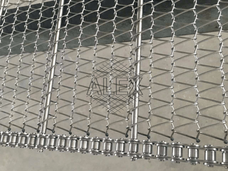 chain driven conveyor belt
