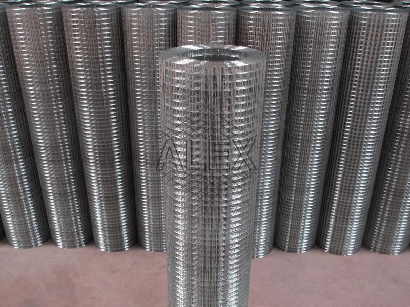 electro galvanized welded mesh