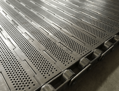 Hinged Plate Conveyor Belt