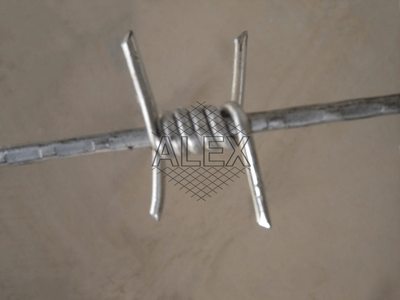 single barbed wire